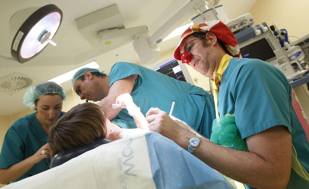 PupaClown, Payasos de Hospital