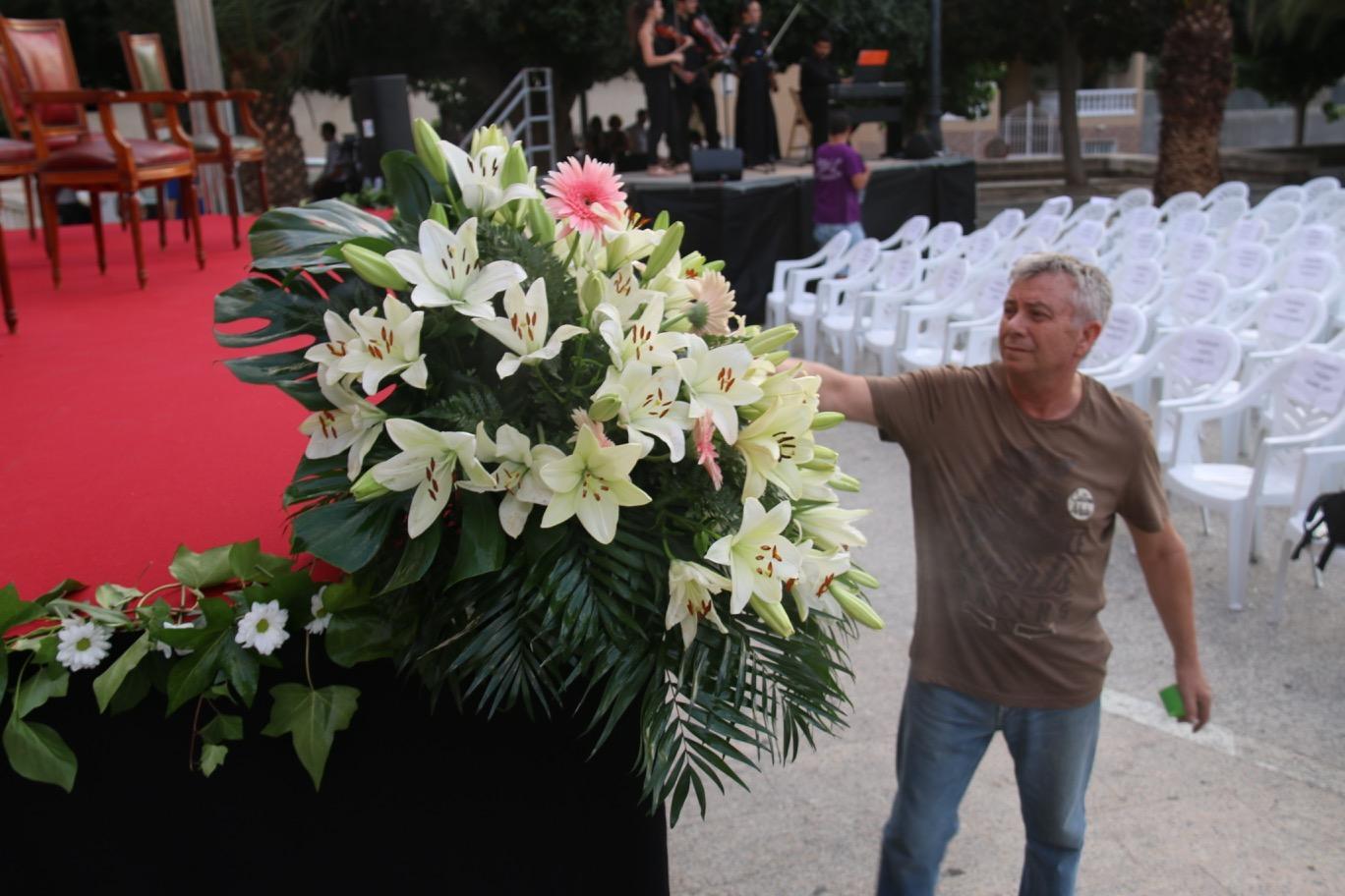Adornos Florales, Evento Ayuntamiento
