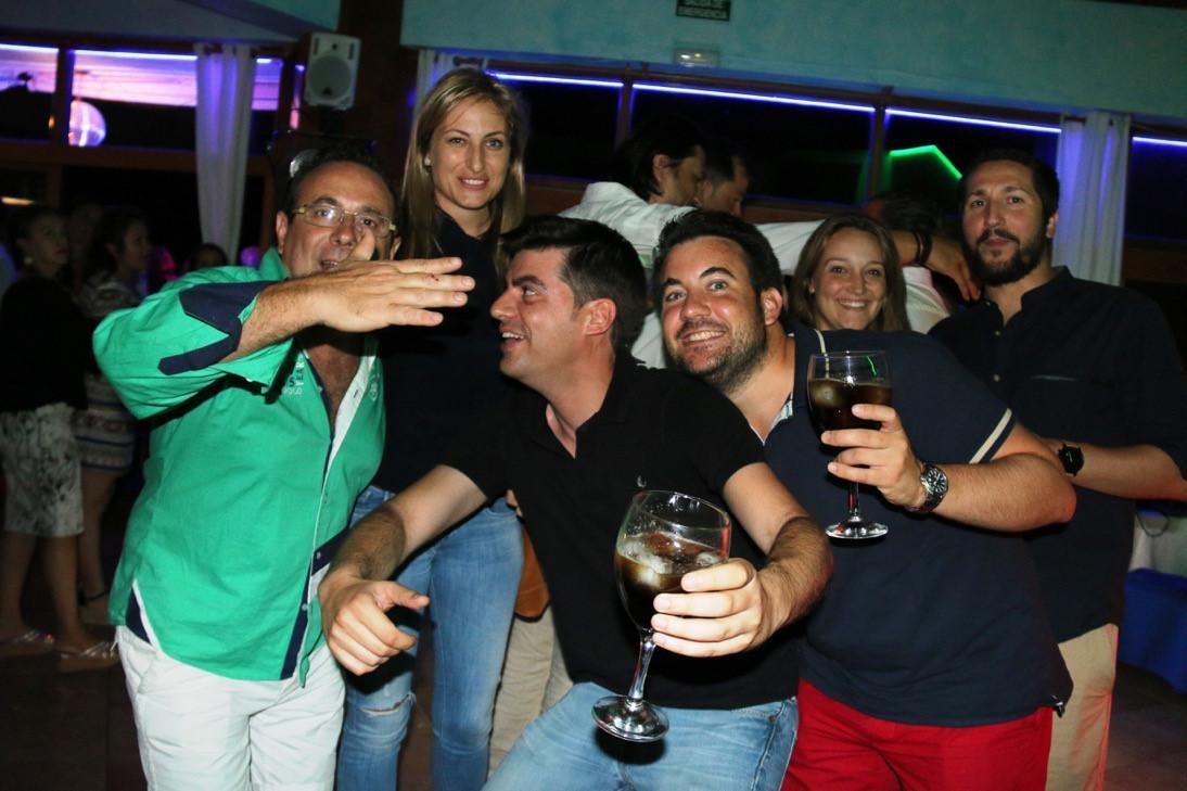 Celes Dj en Club Nautico de Campoamor
