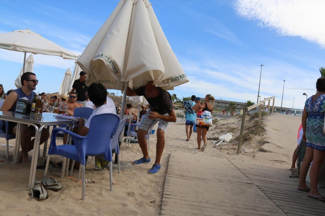 Dj Celes en Chiringuito El Pirata, Agosto 2015