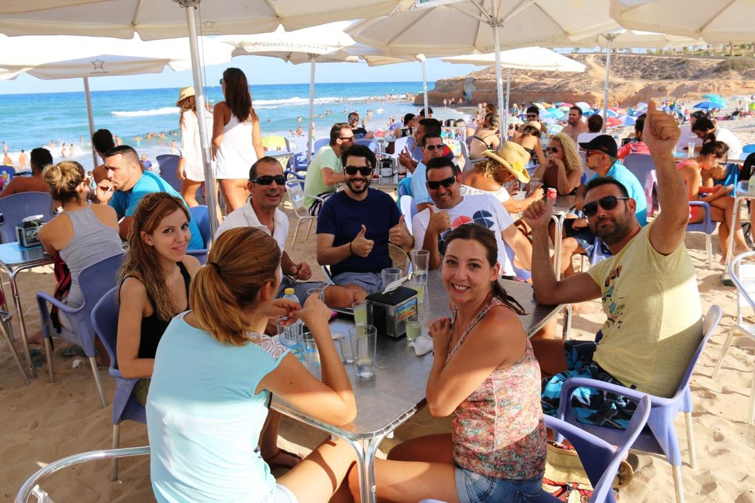 Luis DJ en Chiringuito EL Pirata