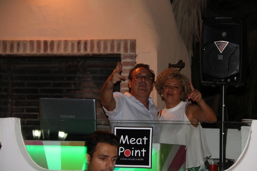 Dj Celes en Meat Point