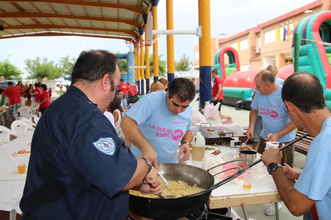 Fiestas Molina 2015, Comida de las Peñas