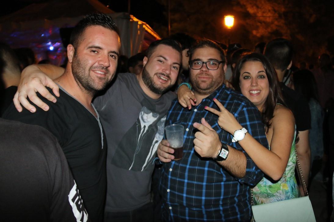 Noche en las Carpas. Fiestas 2015