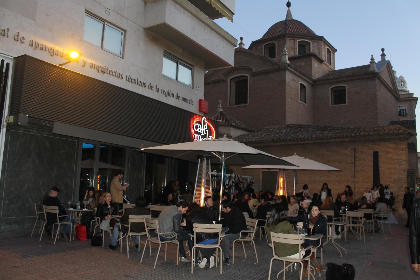 Celes en el Moderno Murcia