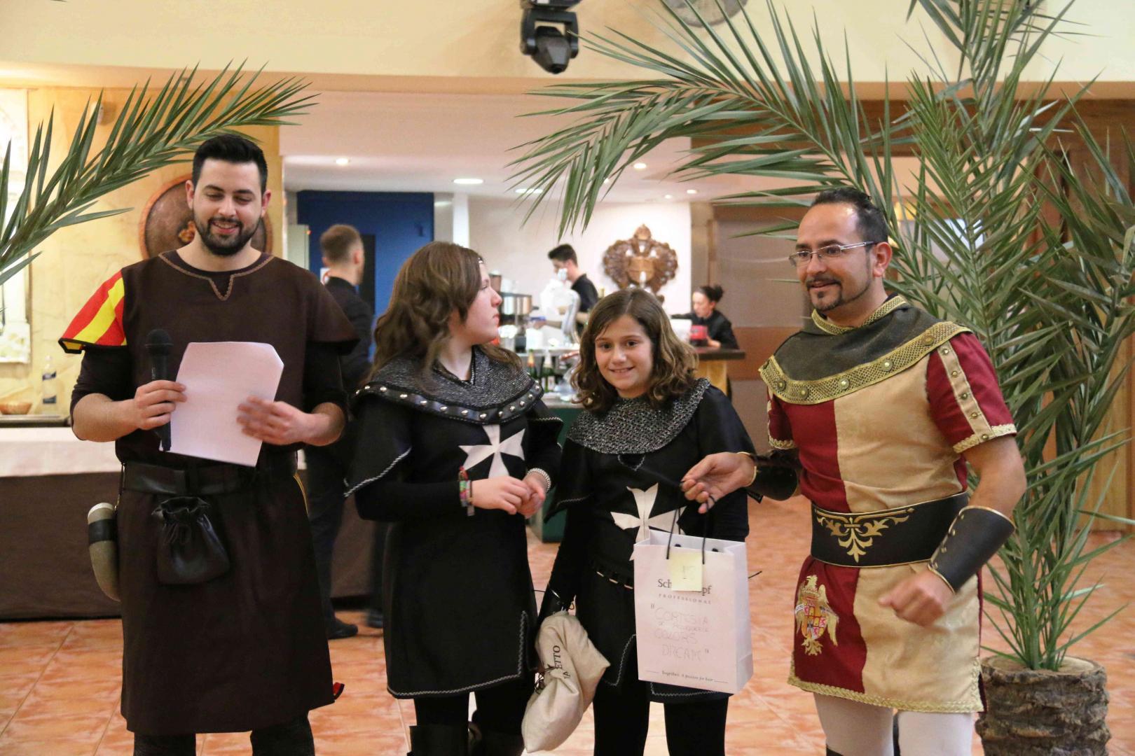 Cena Mediaval Moros cristianos Archena