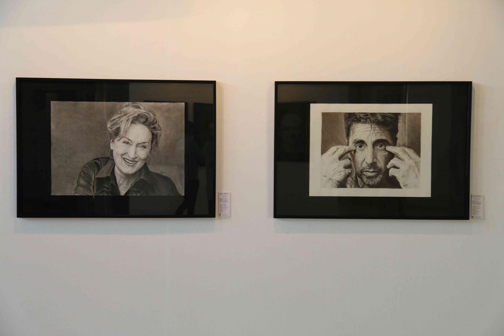 Exposición Retratos de Cine, de Jesús Lorente en el Museo Oliver