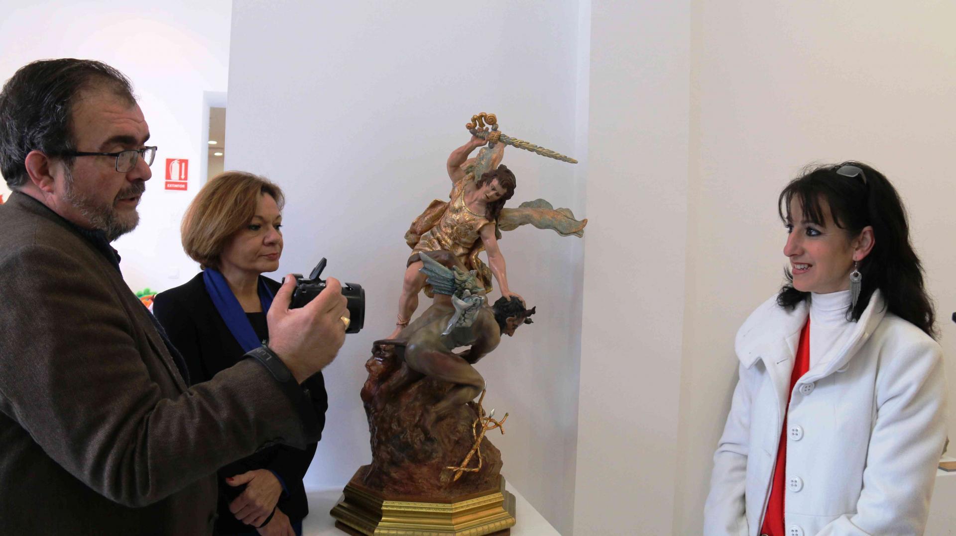 Exposición Imaginería Blázquez en Centro de Artesanía Cartagena
