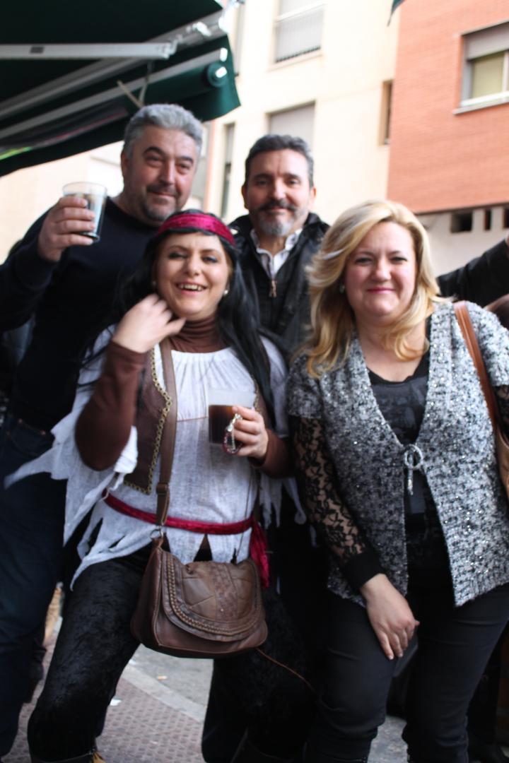 Chirigotas 2015 en Bar el Linde de Molina de Segura