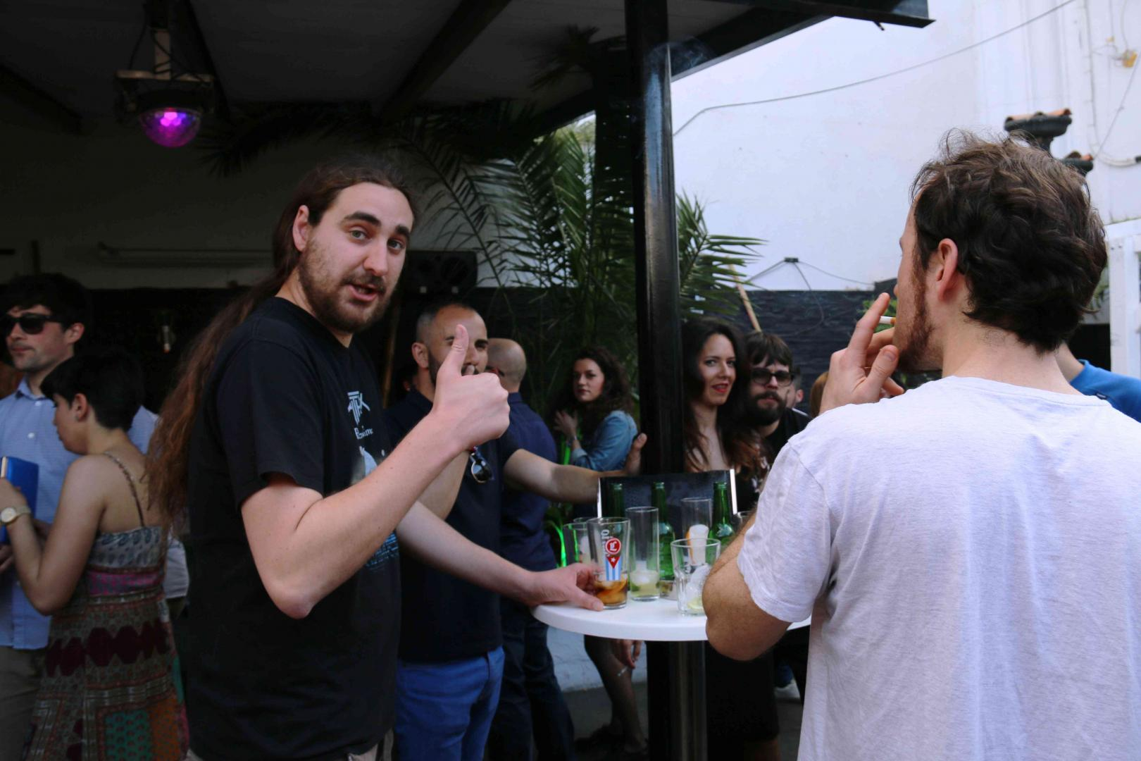 Domingo de Resurrección en Atico pub