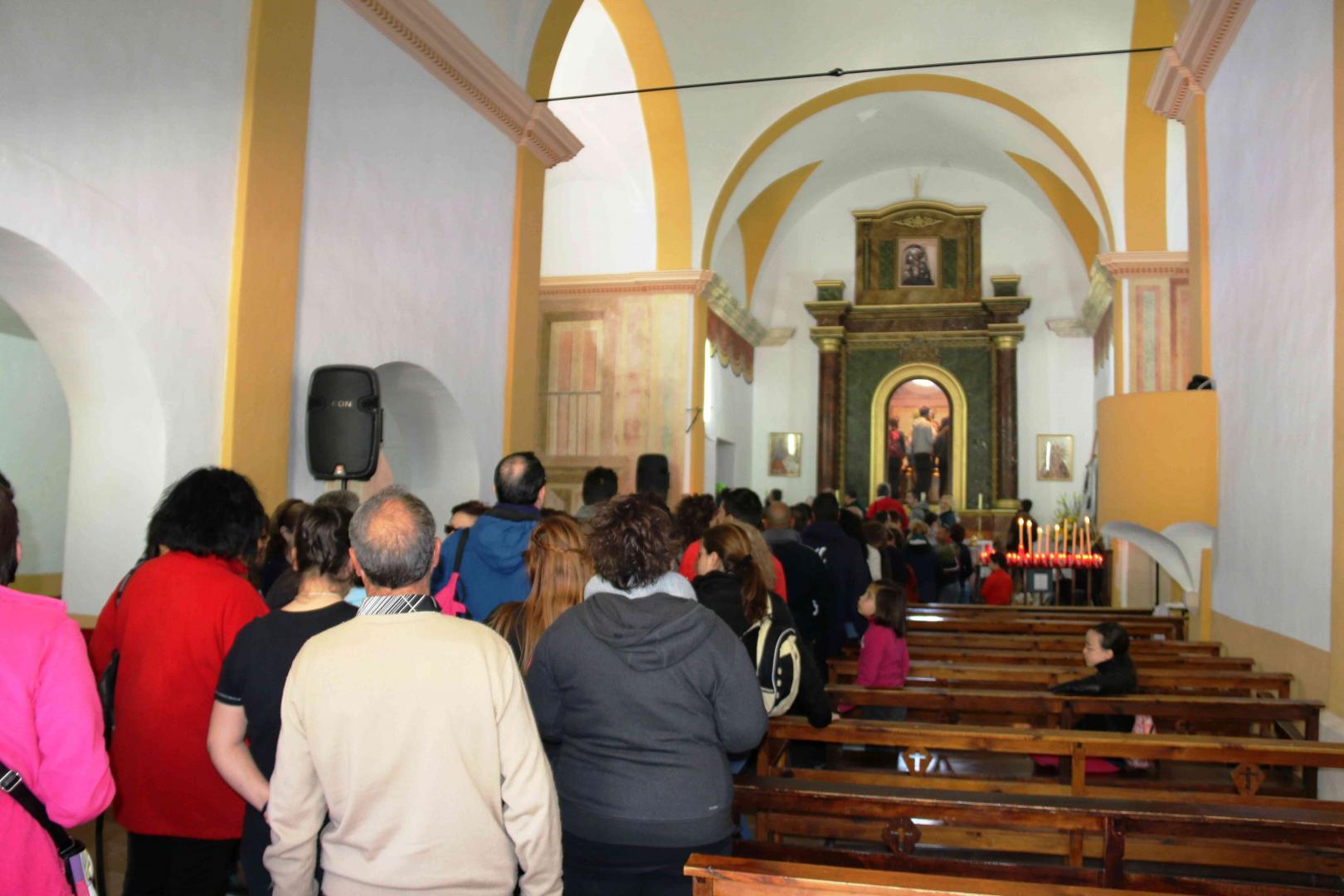 Romería de San Roque 2016 en Blanca. En la Ermita