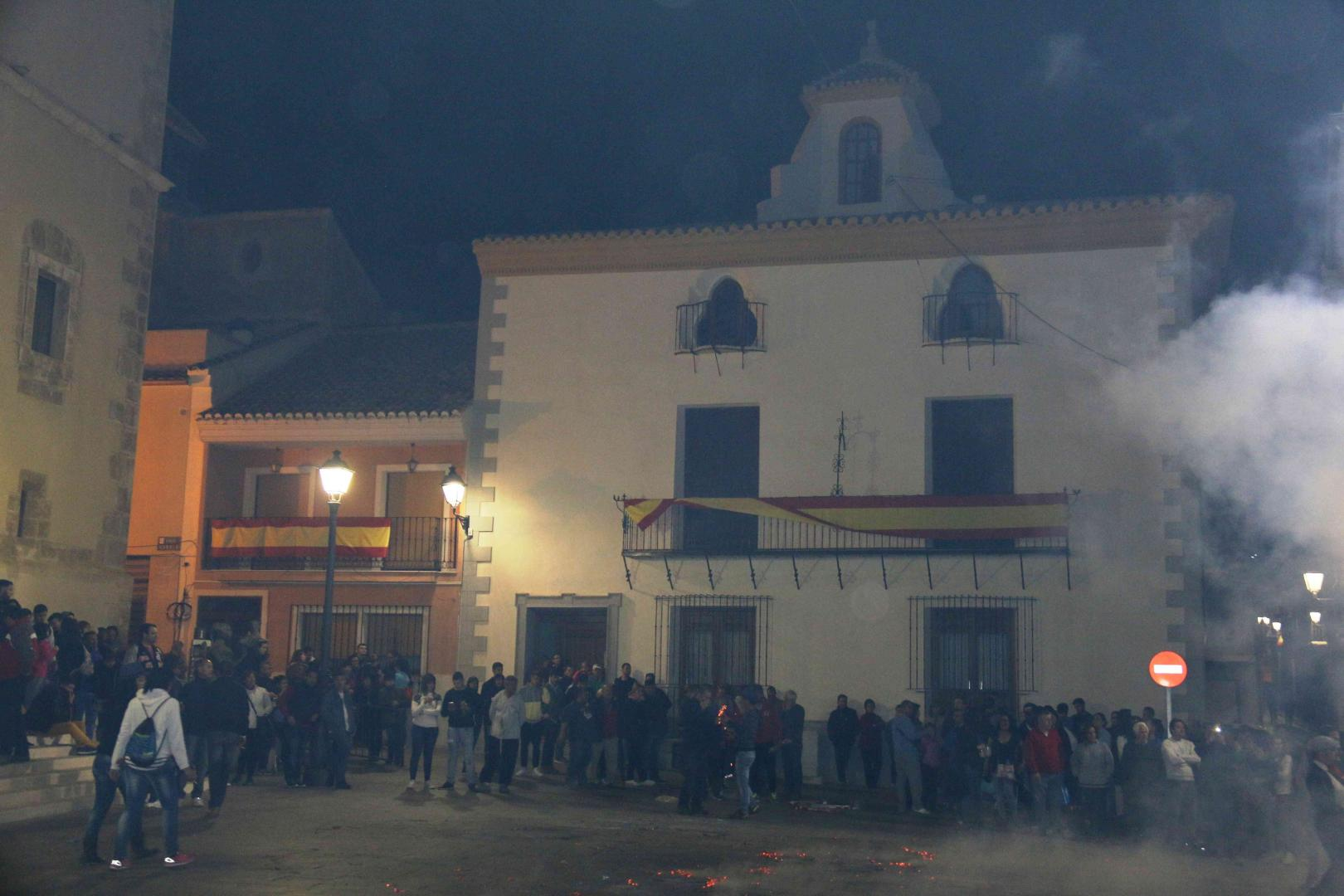 Romería de San Roque 2016 en Blanca. Hacia la Iglesia