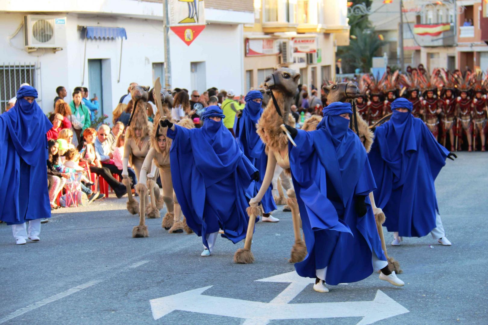 Fiestas Moros y Cristianos Abanilla 2016