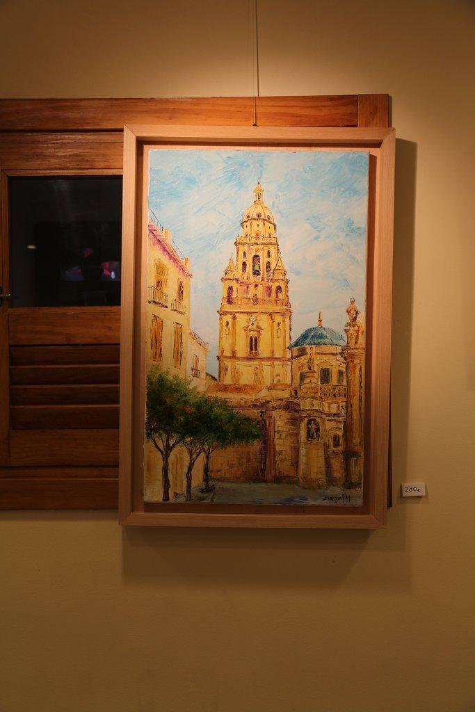 Exposición de Francisco Cánovas en el Casino de Murcia
