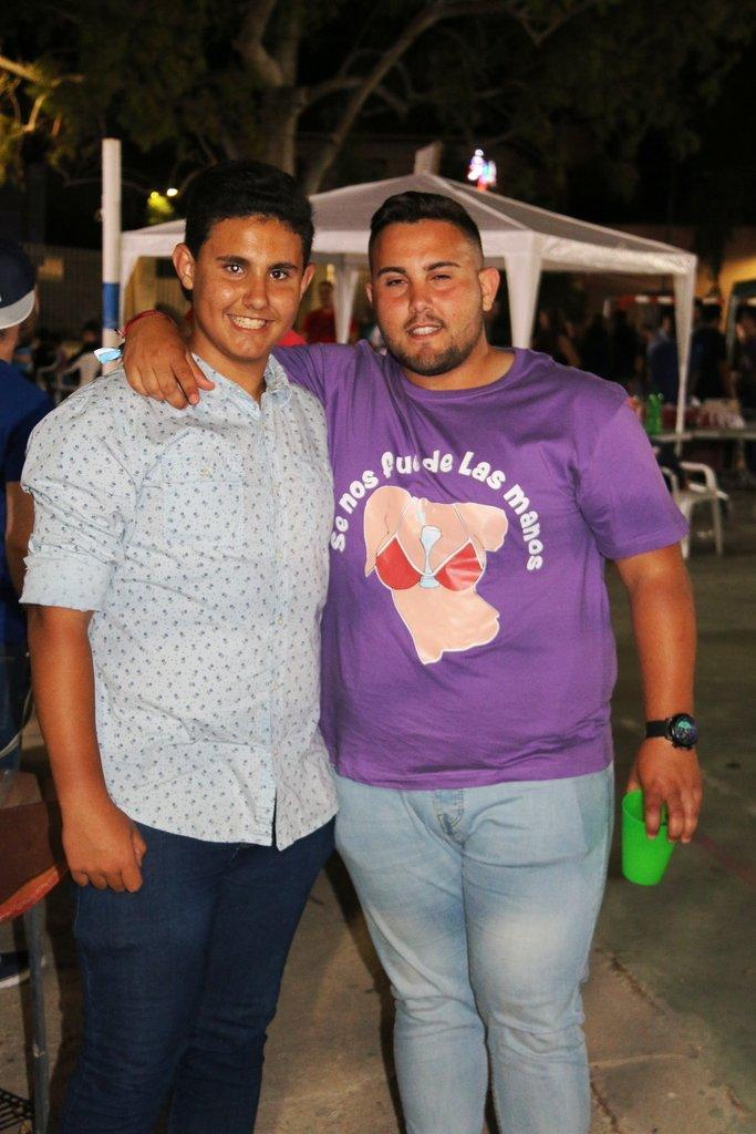 Encuentro de Peñas en  Fiestas de Archena 2016