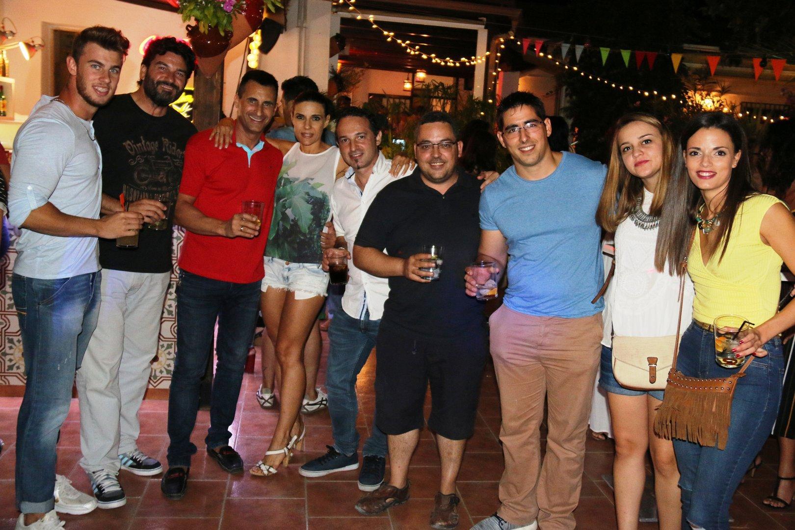 Fiestas de ceutí 2016 la casa pintada viernes 12
