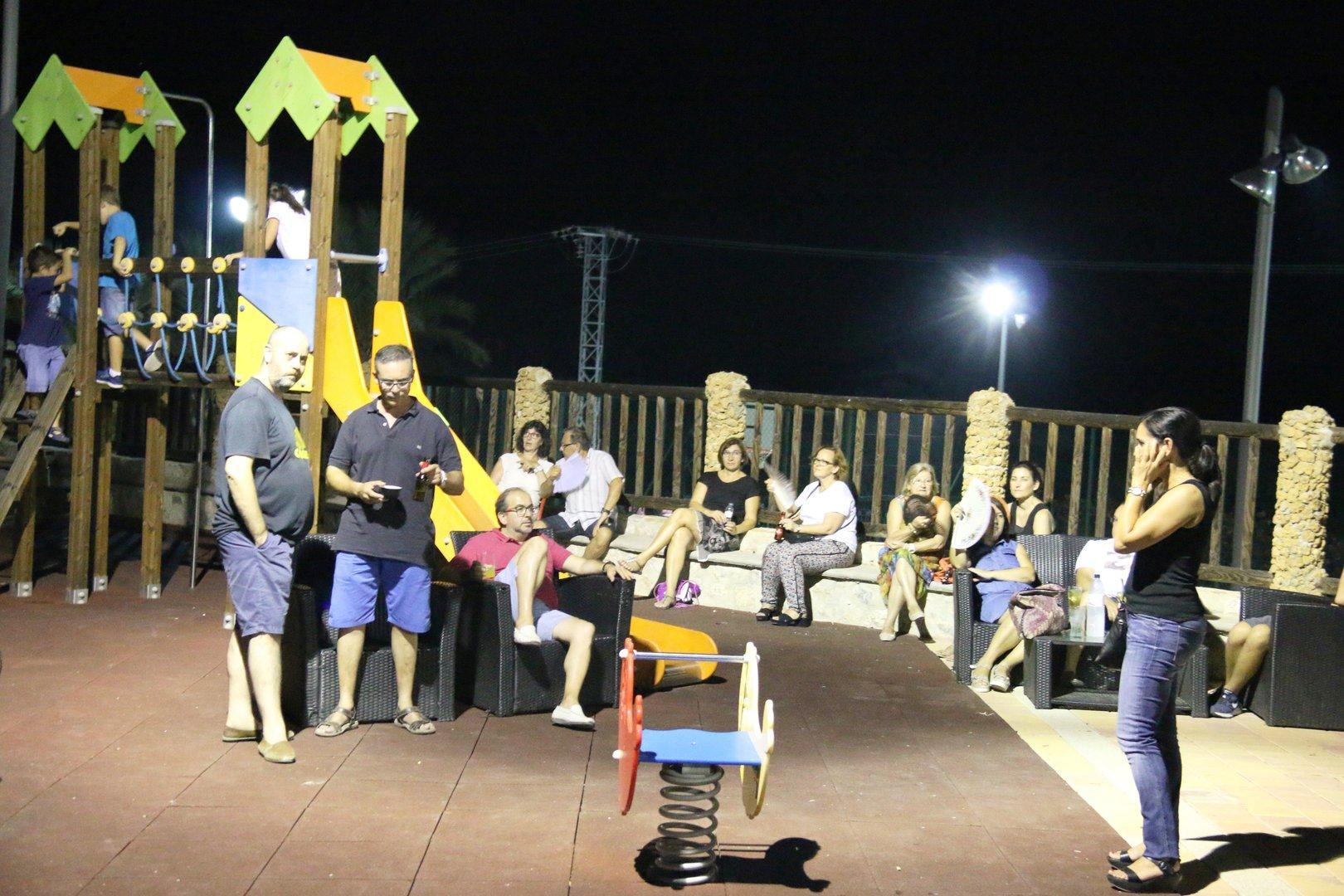 Tributo último de la fila en Gurugu,Fiestas 2016
