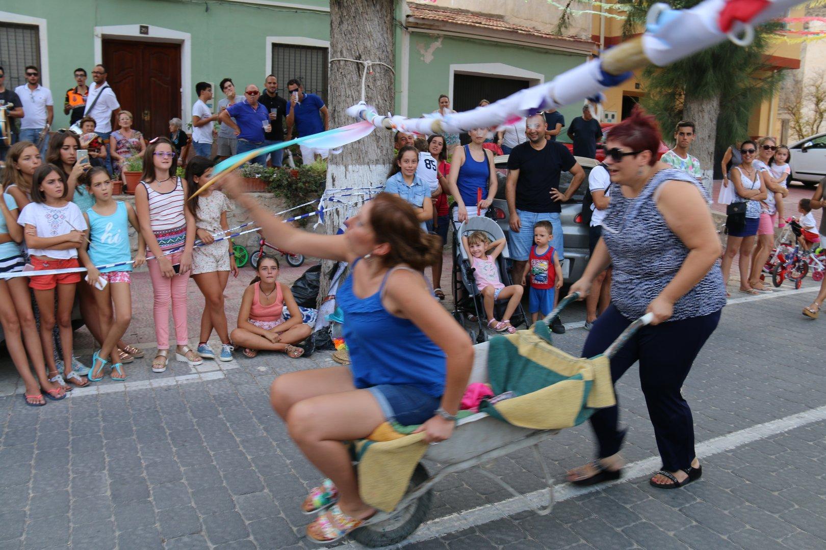Fiestas Ojós 2016- Carrera de Cintas