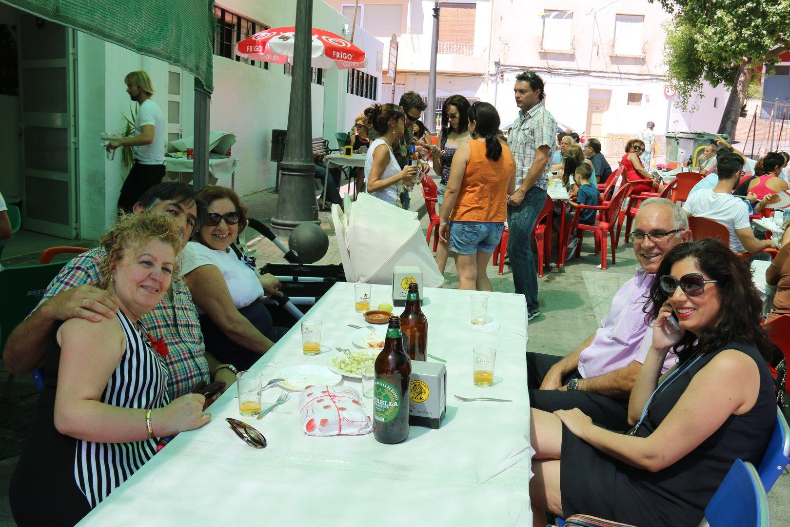 Fiestas de Ulea 2016. Bar La Piscina