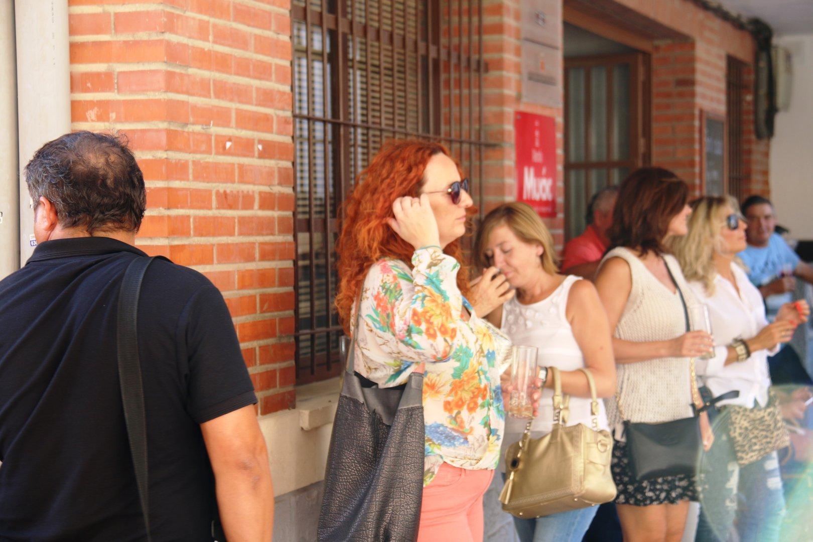 Bienvenida al Otoño en Plaza de Abastos cabezo de torres con Conecta2