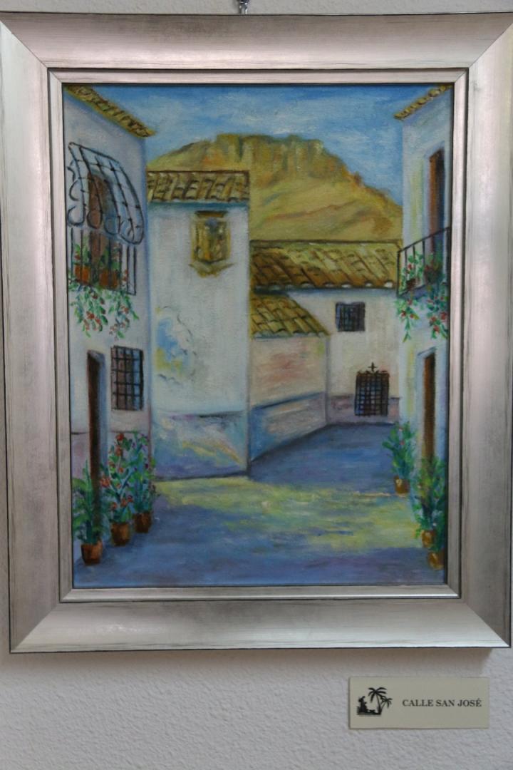 Exposición Tierra Morisca del Pintor Juan Pedro en El Museo de Los Belenes del Mundo de Ojós