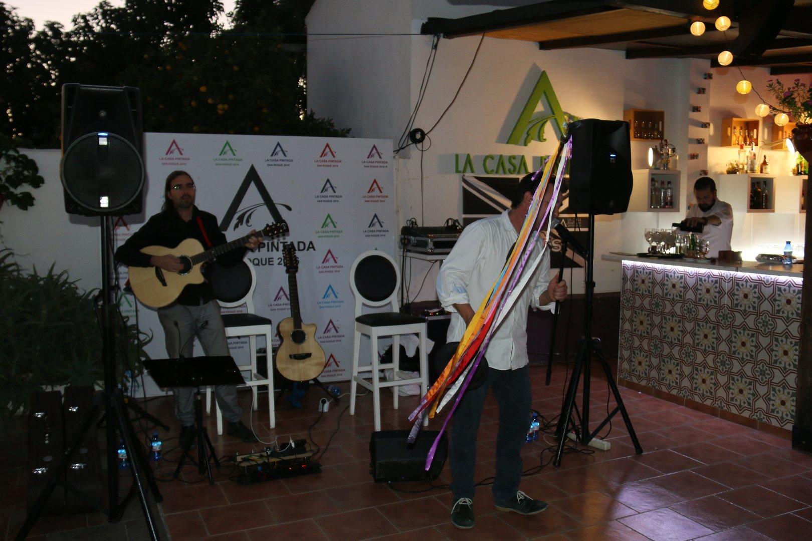 concierto idem Domingo de  Aniversario en Casa Pintada