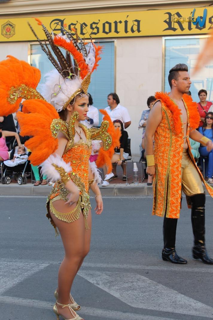 Carrozas Fiestas Archena 2013