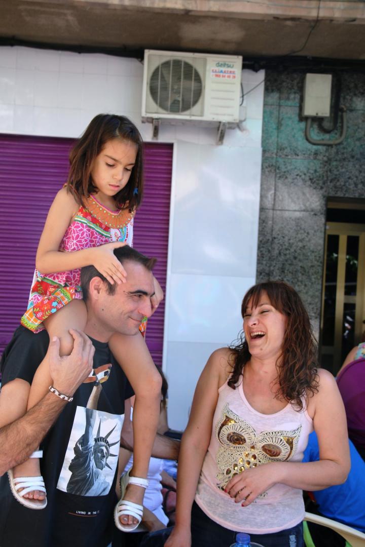 Concierto Sin Propiedad en EL Santa Bárbara Ruta de la Tapa Molina 2016