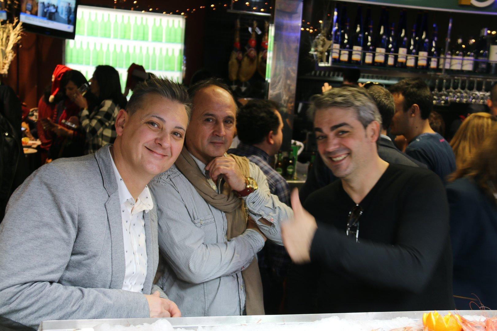 Bar La Plaza del Cabezo de Torres . Aperitivo Nochebuena 2016