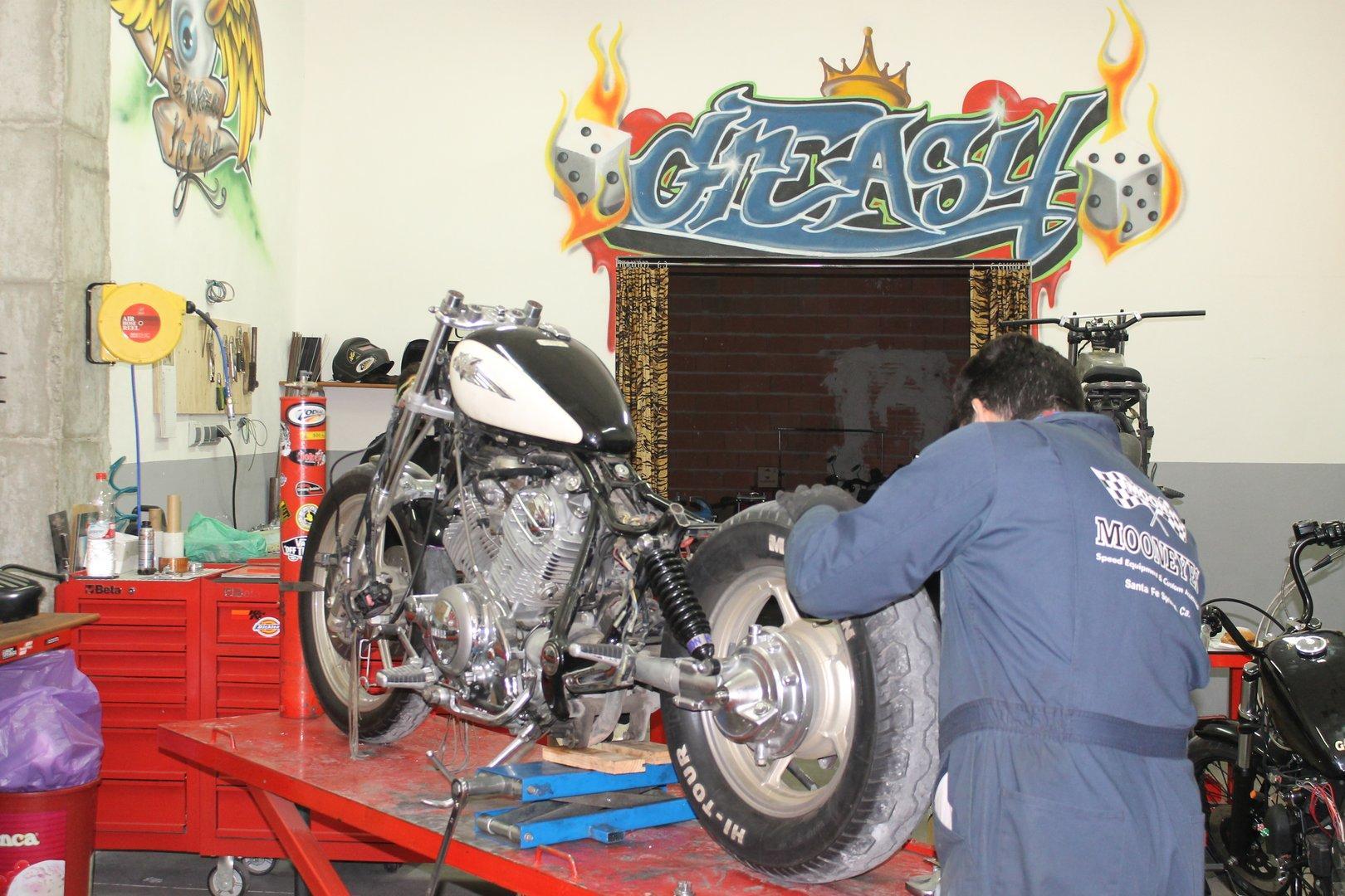 Selección Greasy Bobber, todo para Motos Custom