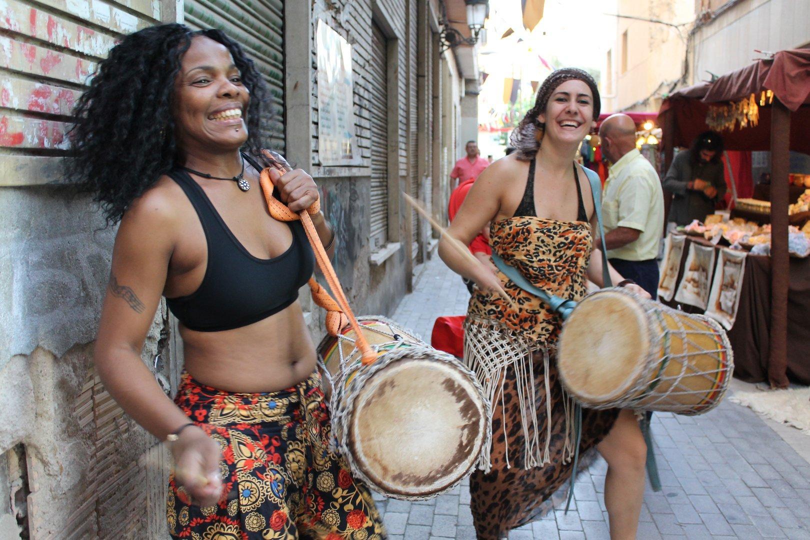 Mercadillo medieval fiestas Molina de Segura 2012