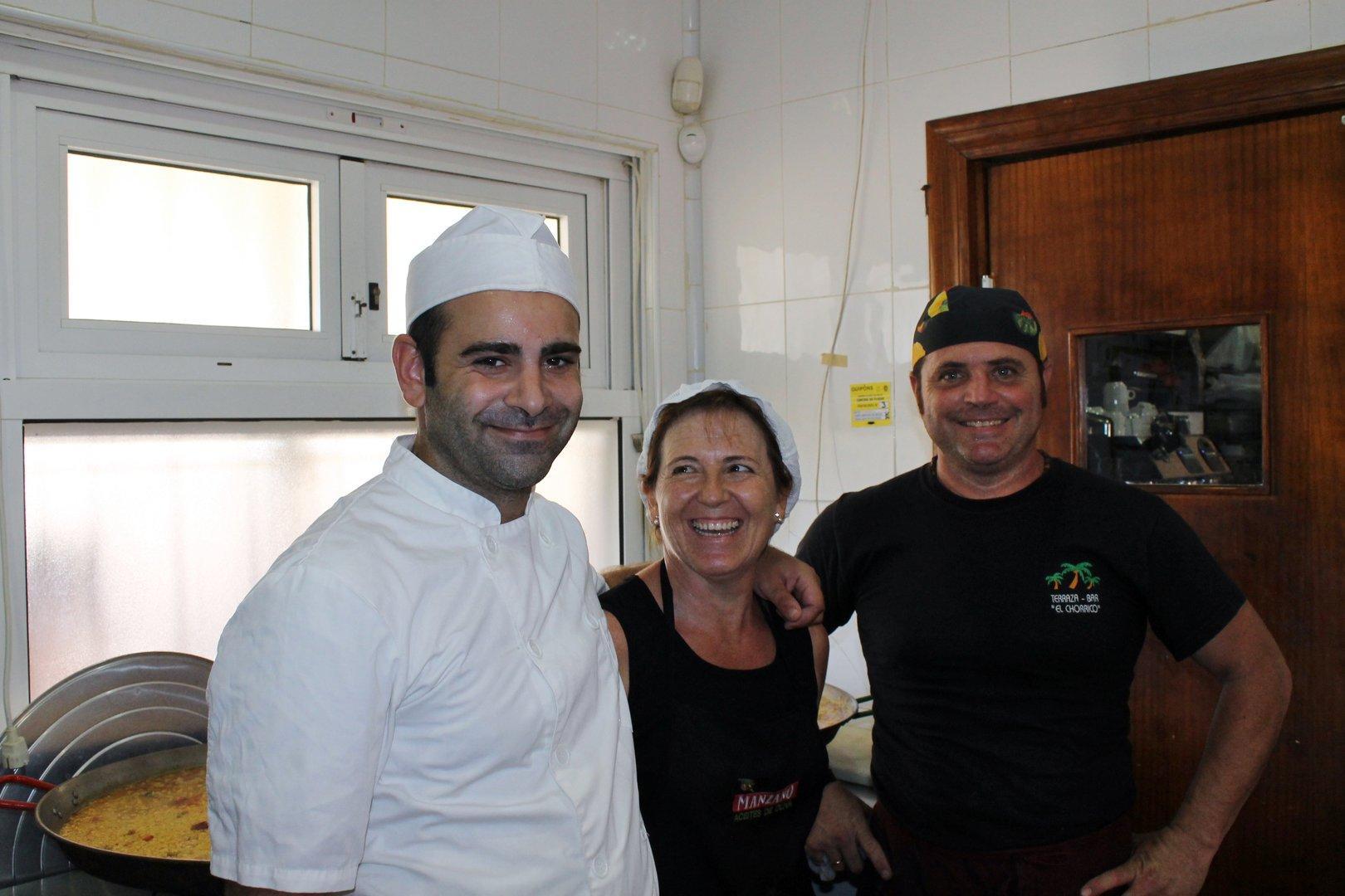 Un Día de Arroz en Restaurante el Chorrico