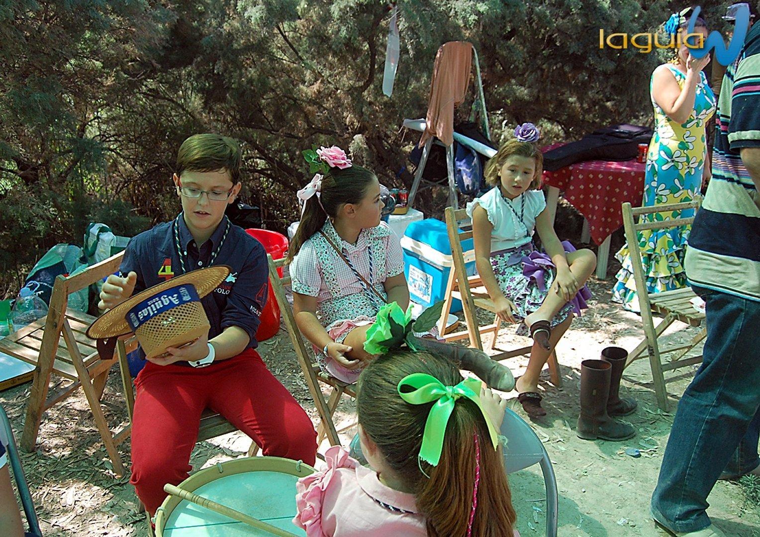 Romeria rociera 2012 archena, Domingo Rociero