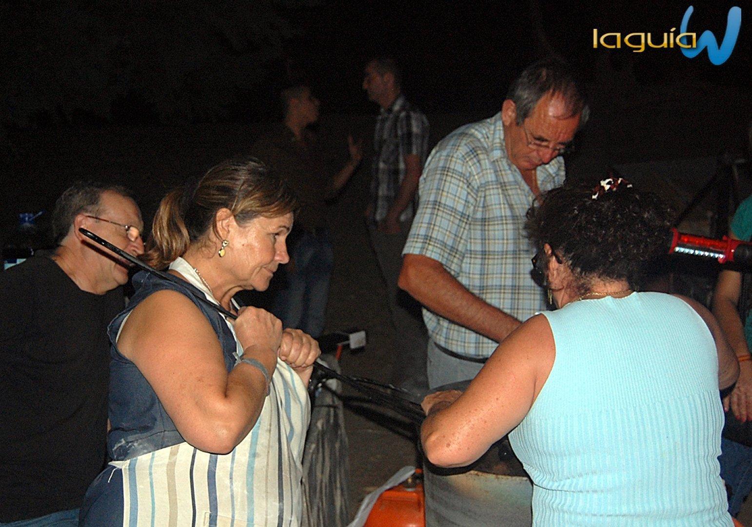 Romeria rociera 2012 archena En La Luz Comida y Noche cena
