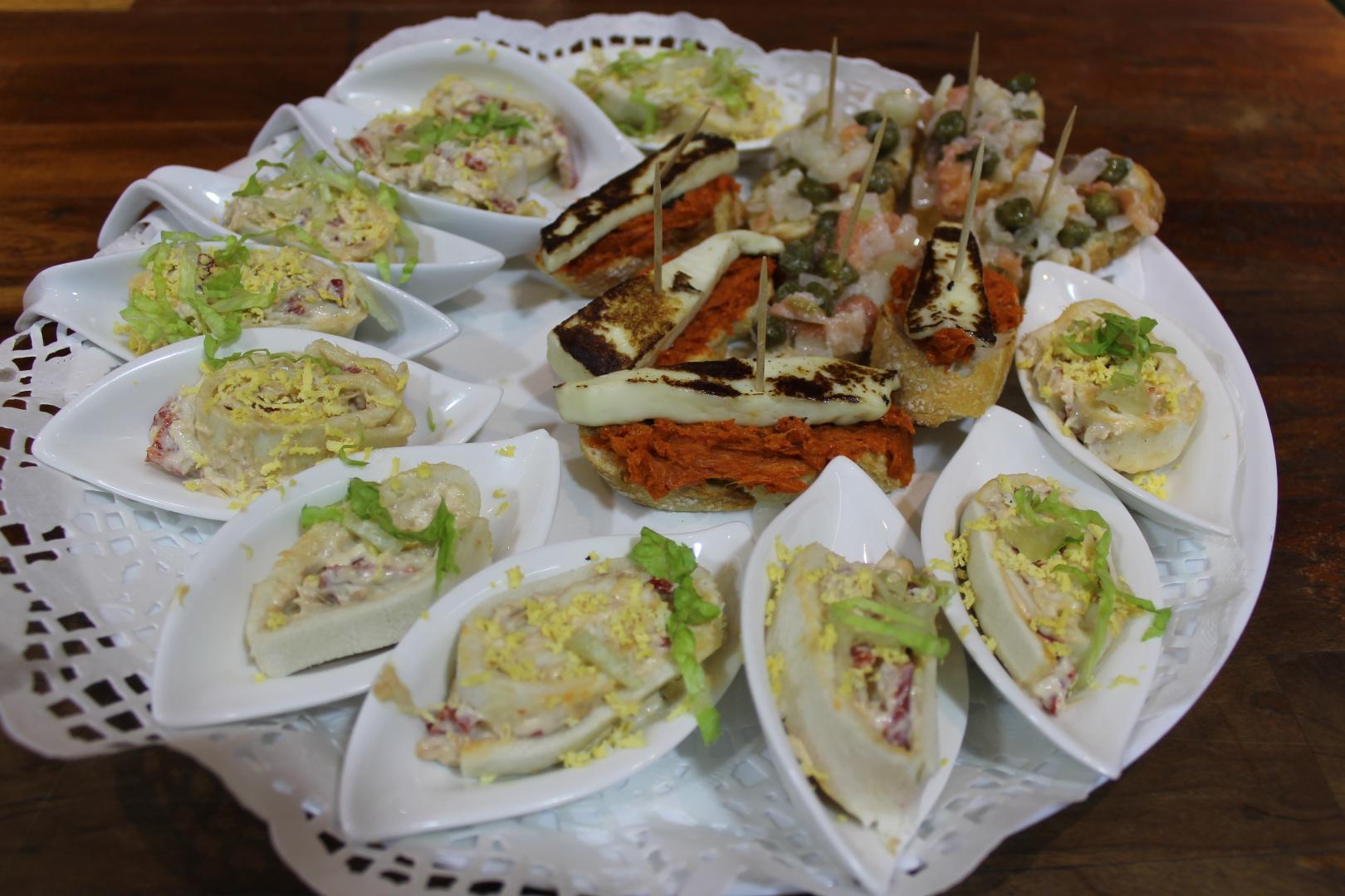 Platos Cafetería Nelson