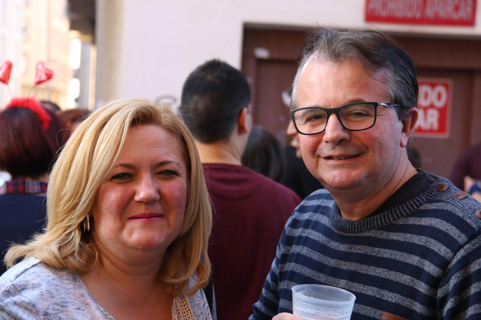 Chirigotas 2017 en el Bar Linde de Molina de Segura