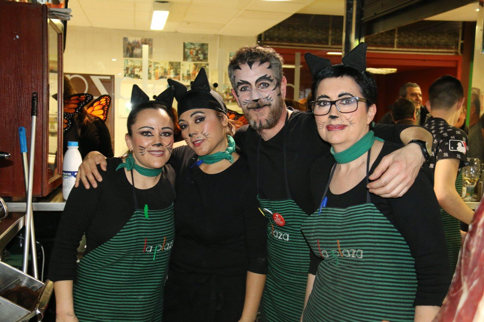 Carnaval en la Plaza de Abastos del Cabezo de Torres