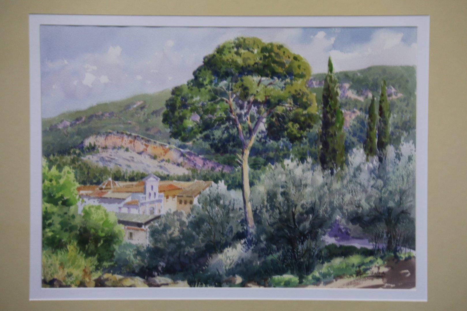 Exposición de Pintura de Vicente Armiñana en El Centro Cultural El Jardín de Molina de Segura