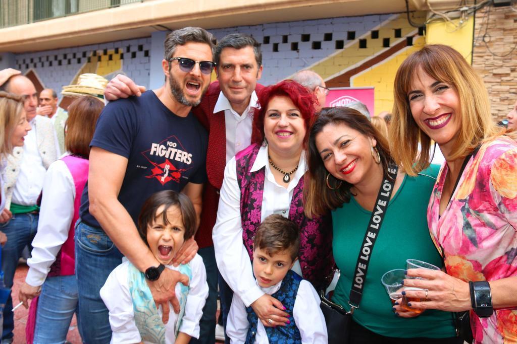 Bando de la Huerta 2019 en Restaurante Por Herencia y Celes DJ