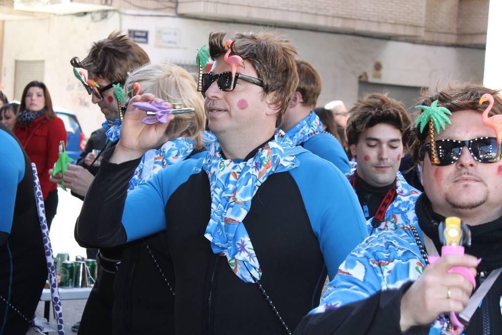 Carnaval 2013 Chirigotas en Bar Linde de Molina