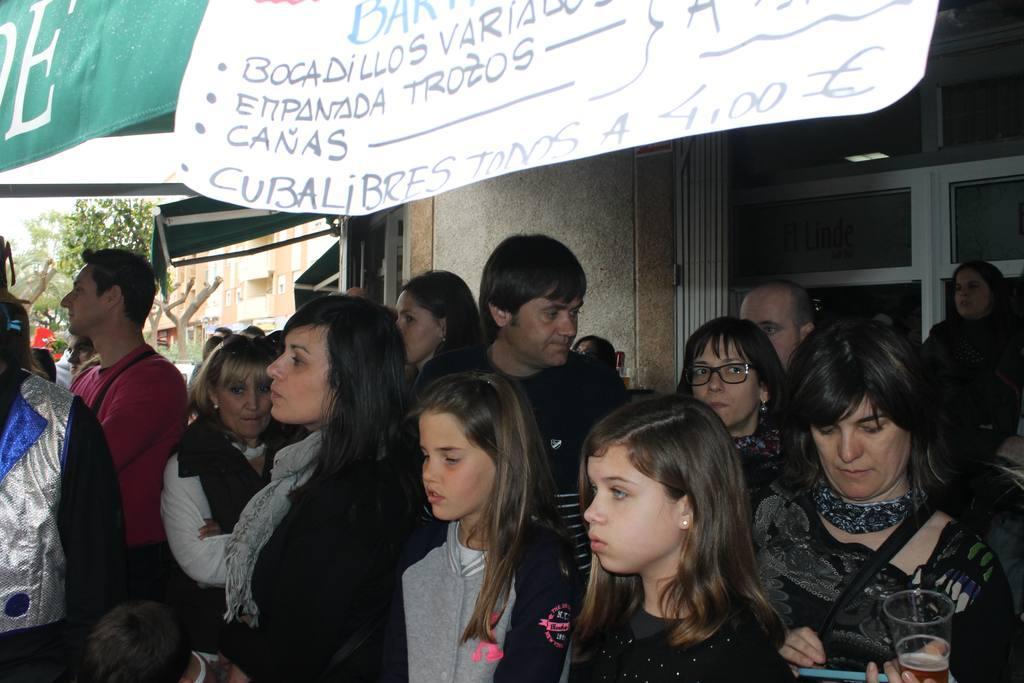 Carnaval 2014 Chirigotas en Bar Linde de Molina