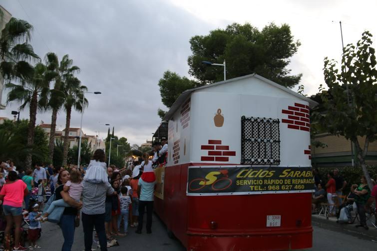 Carrozas Fiestas de Molina de Segura 2017