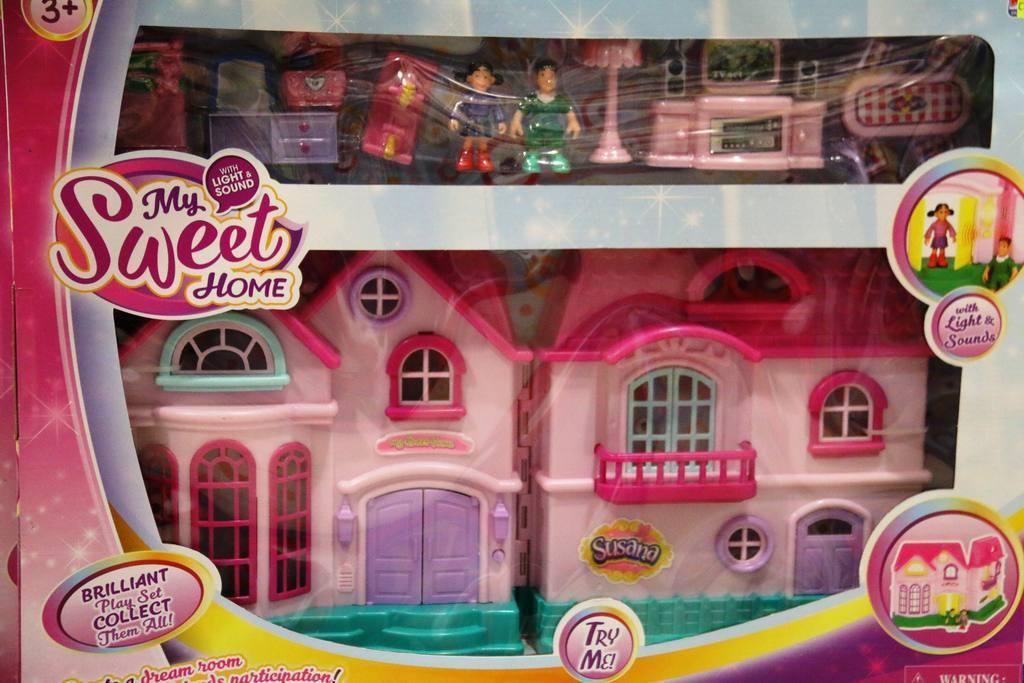 Casas de Muñecas en Juguetes Cash-Luci de Molina de Segura