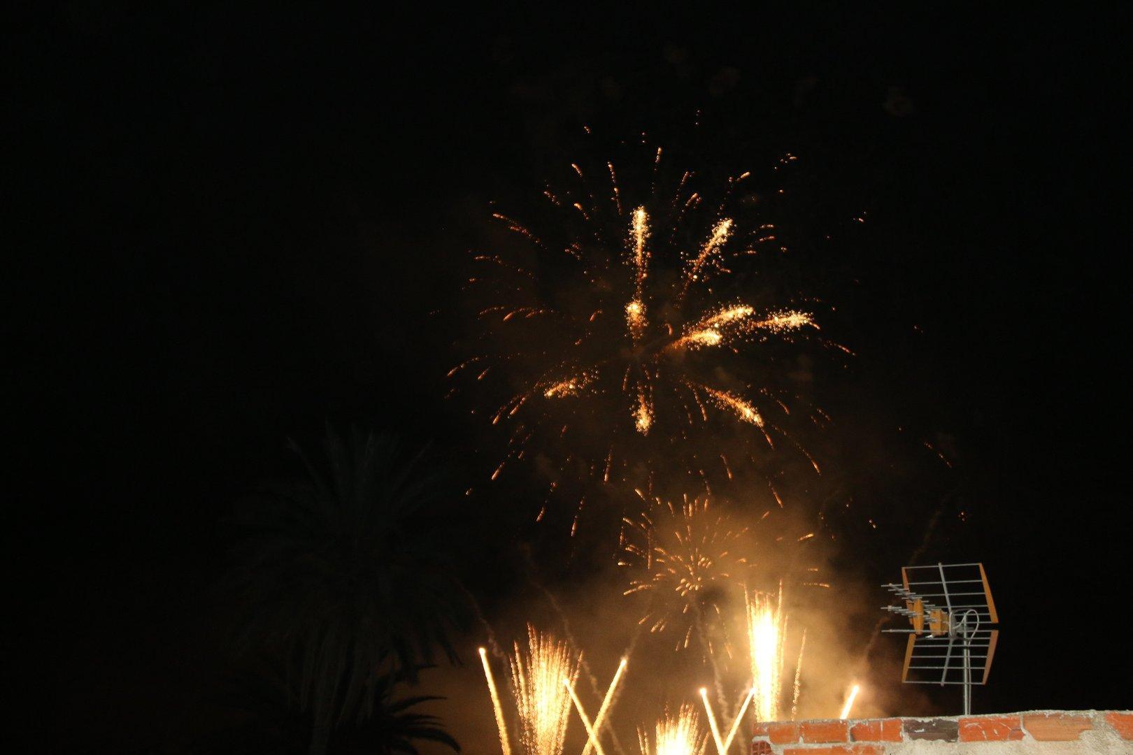 Castillo de Fuegos Artificiales Fiestas de Ojós 2017
