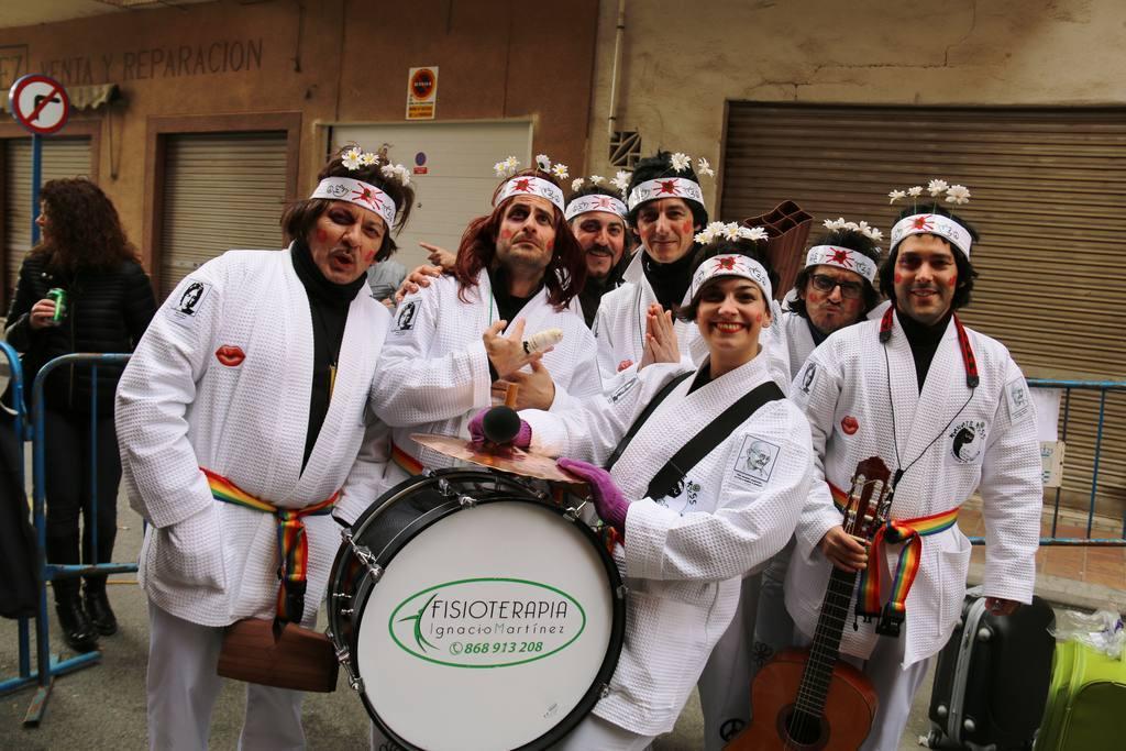 Chirigotas Beniaján y Molina en Bar Linde-Carnaval 2018