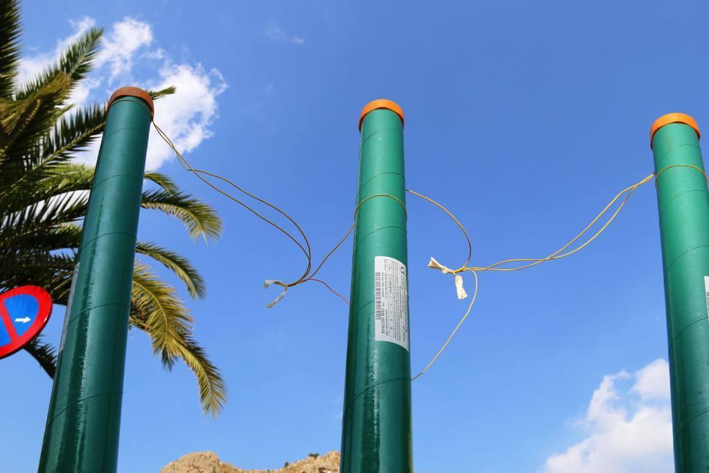 Cohetes Día de San Agustín Fiestas Ojós 2019