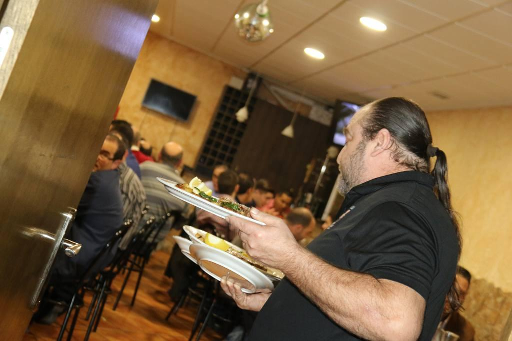 Comida Talleres Archena 2018 en Bar La Mari