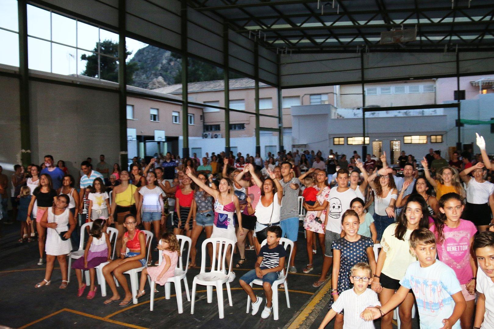 Con los Happys en Fiestas de Ojós 2017