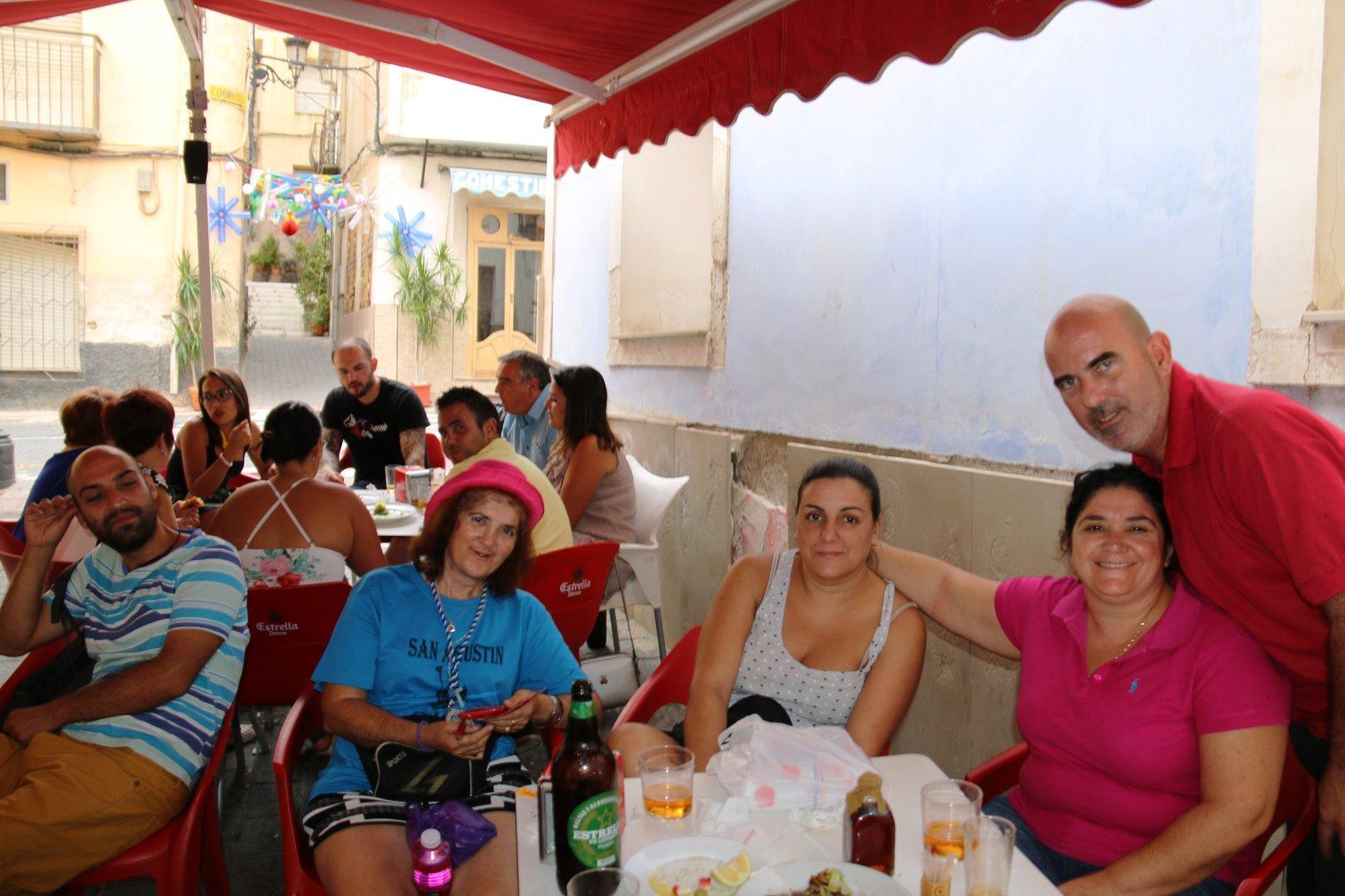 Con San Agustín en Las Fiestas de Ojós 2017