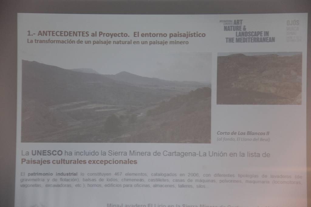 Congreso Arte, Naturaleza y Paisaje en el Mediterráneo-Ojós 2018